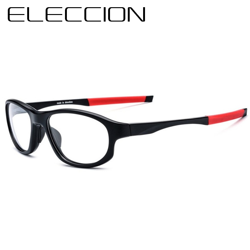 eb9c00178af ELECCION Sports Eyewear Myopia Frame Men Eyeglasses Optical Full Frames  Prescription Spectacles Male Bicycle Riding Glasses