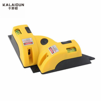 KALAIDUN Laser Measurement Tool Right Angle 90 Degree Vertical Horizontal Laser Line Projection Square Level Laser