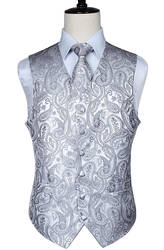 Для мужчин Классические Пейсли ЖАККАРДОВЫЕ жилет платок спортивные солнцезащитныt очки для мужчин жилет Карманный платок для костюма