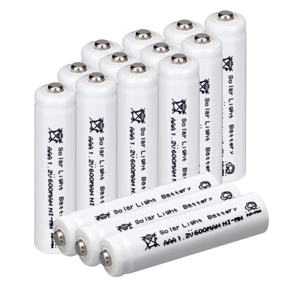 White Color For 15 Pcs Aaa Solar Battery Solar Light