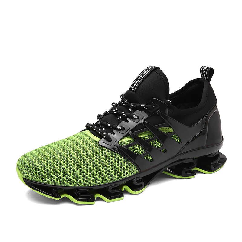 9d8cd5252bec Trainers Casual Walking Shoe Men Blade Sport Sneakers Breathable Mesh Cross  Trainning Trail Running Men Shoes zapatillas hombre