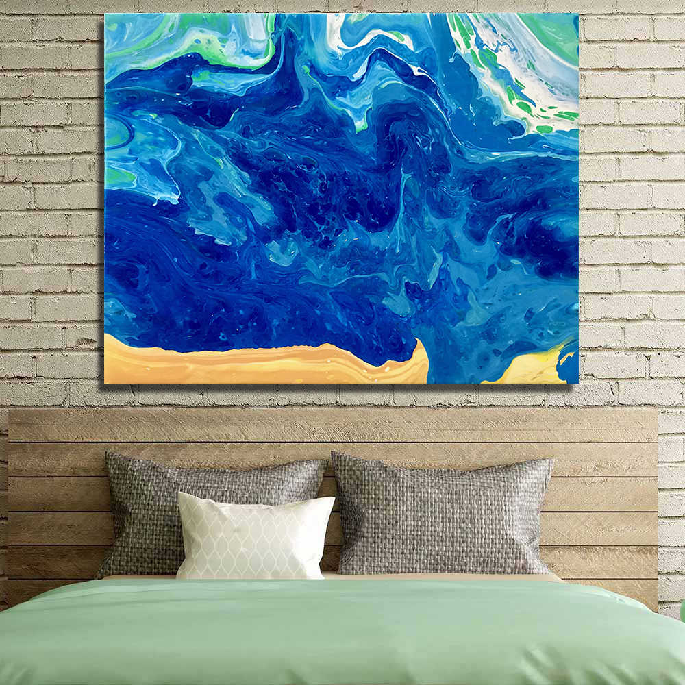 AAVV Abstract painting Canvas Prints Picture Office Decoration Oil Painting Modern Canvas Paintings Wall Art Frameless