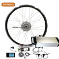 """2016 New Electric Bike Conversion Kit With 250w Bafang Motor Rear Rack Battery 36v 10ah For 26"""" Front Wheel Led Lcd 8fun Sets"""