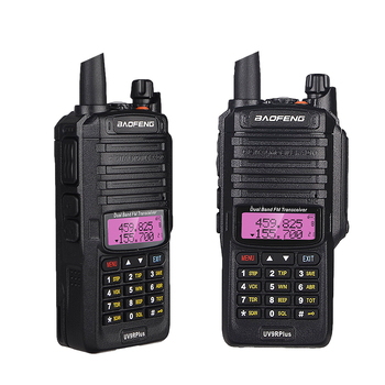 100% Original baofeng uv9r plus upgraded dual band radio waterproof walkie talkie communications amateur vhf uhf marin radio ham 2