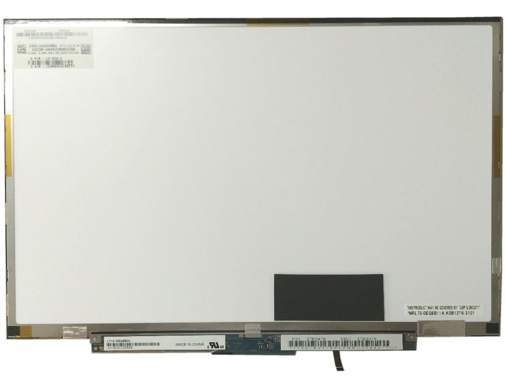 LT141DEQ8B00 42T0634 42T0633 LTN141BT08 003 pour IBM Lenovo T400S T410S Ordinateur Portable A +LT141DEQ8B00 42T0634 42T0633 LTN141BT08 003 pour IBM Lenovo T400S T410S Ordinateur Portable A +