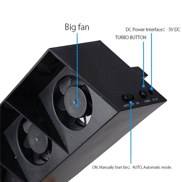 DOBE Cooling Fan Base for Playstation 4