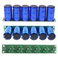 TMOEC 6Pcs/1Set 500F Blue Farad Capacitor Module super Capacitance With Protection Board Automotive Capacitors Electronic Supply