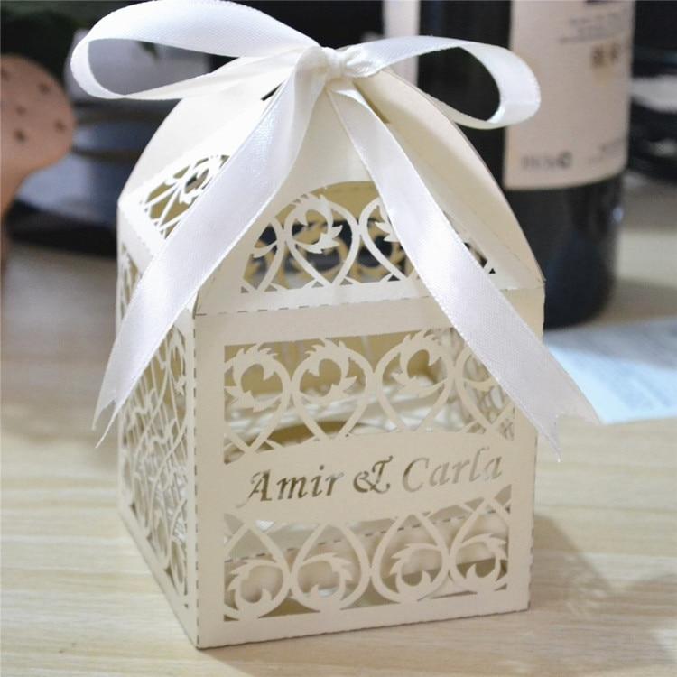 stemless wine glass packaging boxfree customized wedding gifts box laser cut wedding favour box