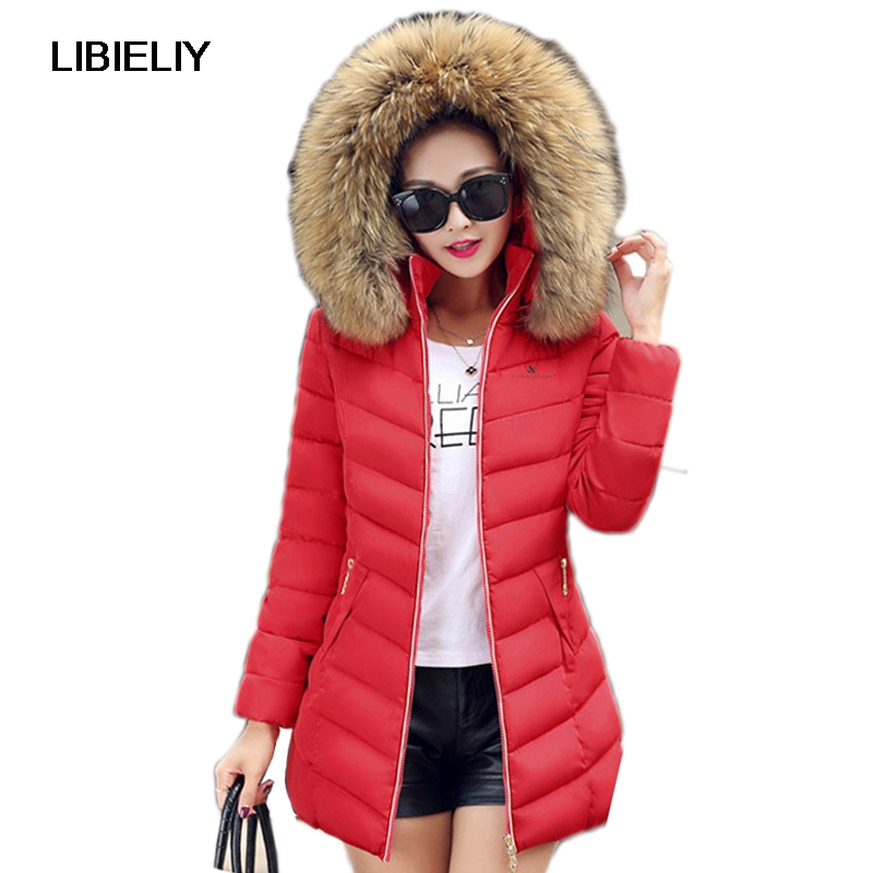 Nice Fur Collar Women Winter Thicken Warm Coat Hooded Long Parka Female Outerwear Slim Jacket Chaqueta Feminino Plus Size 4XL электромеханическая швейная машина vlk napoli 2100
