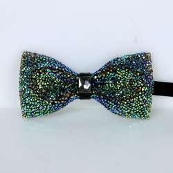 2018 Новый высокое качество Звездное лук галстук Романтические свадебные жених бабочкой Алмазный Инкрустированный модные яркие Для мужчин