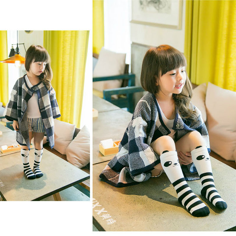 2016 New Baby Girls Knee Socks Fox Cotton Baby Sock Cartoon Cute Kid leg warmer Toddler Boot Hight Knee Socks kids socks
