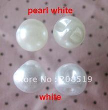 NB0168 pearl shape buttons 300pcs 10mm white for womens clothes wedding garment