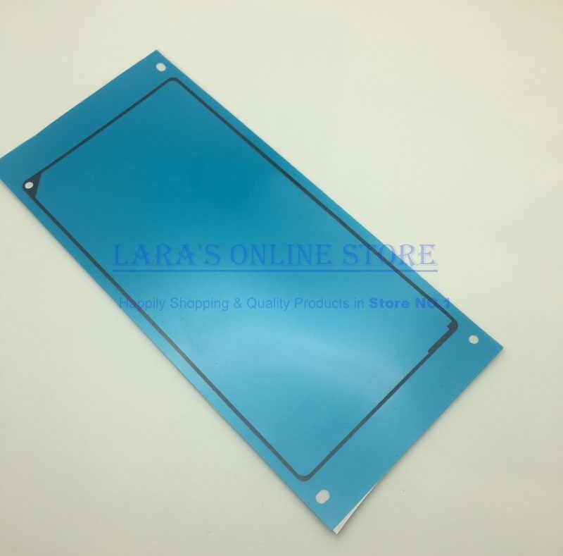4 pcs/lot LCD plaque colle + cadre moyen + dos verre adhésif pour Sony Xperia Z1 L39H colle adhésive autocollant bande pièces de rechange
