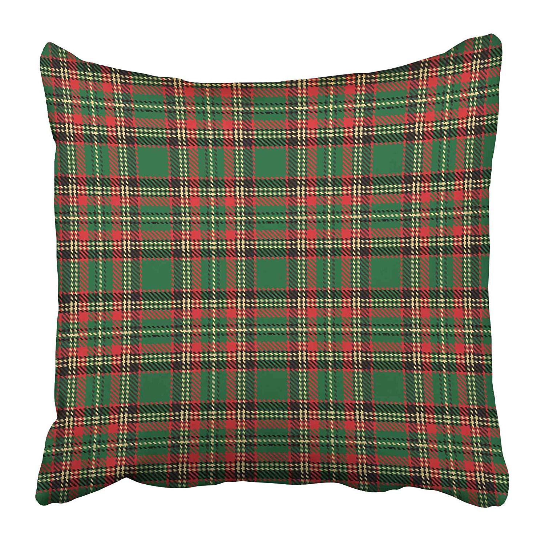Vendita Professionale Cuscino Coperture Custodie Verde Plaid Controlli Tartan Red Scozia Scottish Tavolo Irlandese Gonnellino Pittura Due Lati Di Stampa Federa Caso Di Gli Ordini Sono Benvenuti