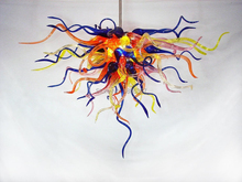 Free Shipping Splendid Home Modern Art Glass Sculpture Lighting Chandelier