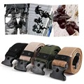 Cintos de Homens Do Exército Tático Militar Heavy Duty Combate Sobrevivência ajustável Cintura