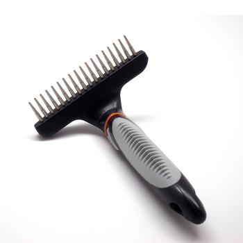 Stainless Steel Hair Removal Rake  4