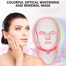 Led 7 Color Mask Instrument Colorful With Micro-Electric Skin Photon Machine Power Beauty