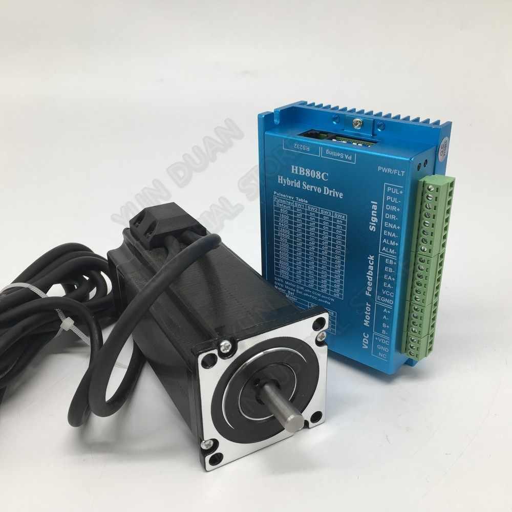 Nema23 Vòng Khép Kín Điều Khiển Động Cơ Bước 2.2Nm 314Oz. trong 57 MM DC DSP 2PH 2NM Kit Hybird Mã Hóa Dễ Dàng Bước Servo cho CNC Router