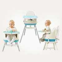 Baby Kids Feeding Chair Booster Seat Multi function Adjustable Baby Eating Dining Table Chair Seating Children Chair
