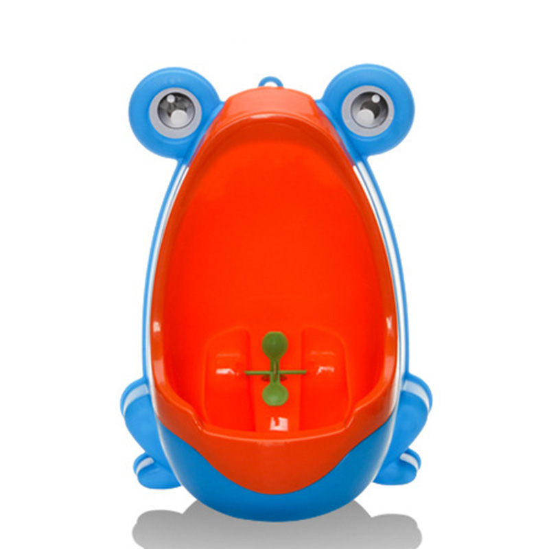 MrY Toilet Training Baby Boy Potty Toilet Training Frog Children Stand Vertical Urinal Boys Penico Pee Infant Toddler Wall-Mounted