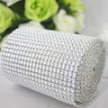24 rolls net pearl cloth mirror door decoration cloth silver accessories diy decoration supplies