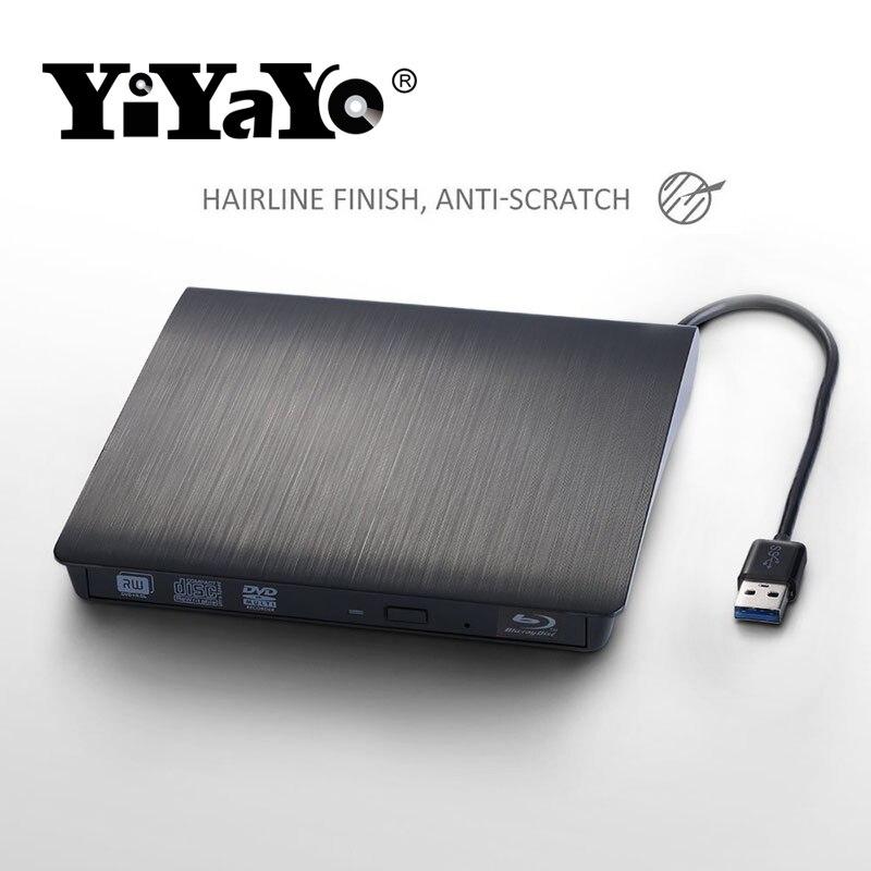 YiYaYo 3D Blu-ray drive Արտաքին USB3.0 CD / DVD RW Burner - Համակարգչային բաղադրիչներ - Լուսանկար 5