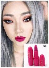 New Sexy Red Lips Matte Velvet Lipstick Pencil Cosmetic Long Lasting Lip Tint Pigment Makeup Nude Brown Lipstick Matte Lip stick