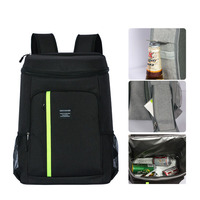 Waterproof Picnic Bag Oxford Insulated Cold Camping Picnic Backpack Thermal Portable Large Shoulder Backpack for Family Camping