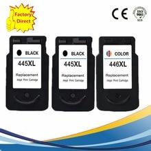 PG-445XL PG445XL PG 445XL CL-446XL CL446XL CL446XL чернильный картридж для принтера Canon Pixma IP 2840 м X 494 мг 2440 2540 2940