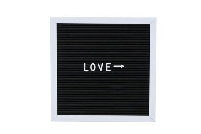 Hot Sale Letter Board Wood Frame Notice Bulletin Message Memo