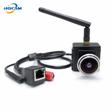 HQCAM 2.0Megapixel wifi ip camera 1.78mm Fisheye Lens H-264 1080P Wireless Indoor Smallest Wifi Ip Network 180 degree fish eyes