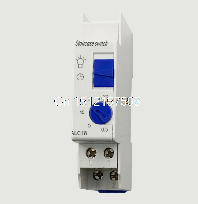 AC220-240V 16A 250V Mechanical Din Rail 20Mins Programmable Timer Switch Staircase <font><b>Light</b></font> ALC18 0.5min 5min 10min 15min 20min