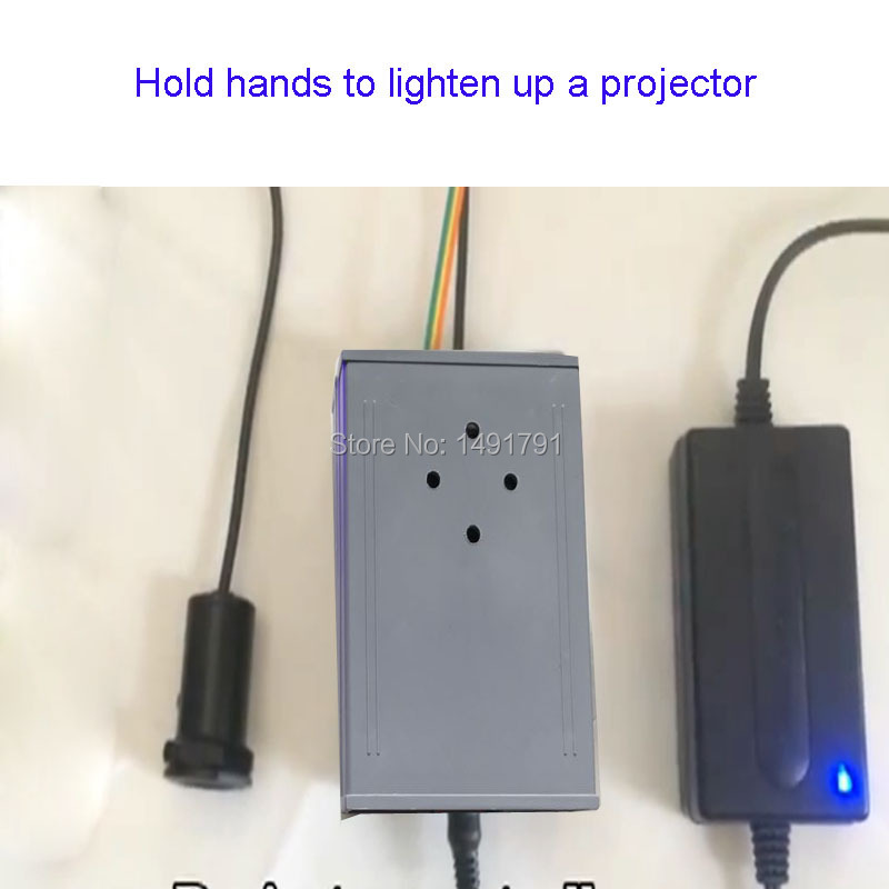 Access Control Beautiful Room Escape Prop Password Props Touch Magnet Sensor To Light Up Projector And Find Password Hidden Clues Puzzles In Projector