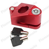 Motorcycle Lock Security Brake Disc CNC Safety Triangle Wheel Lock With 2 Keys for Honda CBR1000 1100 125 250 500 600 Custom