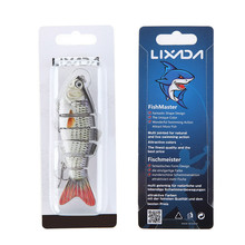 Lixada 10cm 20g Fishing Lure 3D Eyes Wobbler Fish Lure Crankbait Swimbait Isca Artificial Bait With Hook Carp Ice Fishing Tackle