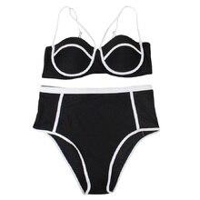 CATTLEYA Bikinis Women 2017 Print Floral Swimsuits Brazilian Push Up Bikini Set Retro Bathing Suits Plus Size Swimwear