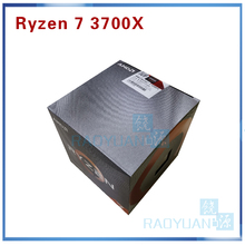 AMD Ryzen 7 3700X R7 3700X 3.6 GHz 7NM L3=32M 100 000000071 8 Core 16 Thread CPU Processor Socket AM4 with cooler cooling fan