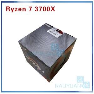 Image 1 - AMD Ryzen 7 3700X R7 3700X3.6 GHz 7NM L3 = 32M 100 000000071 8 Core 16 חוט Socket AM4 עם cooler קירור מאוורר