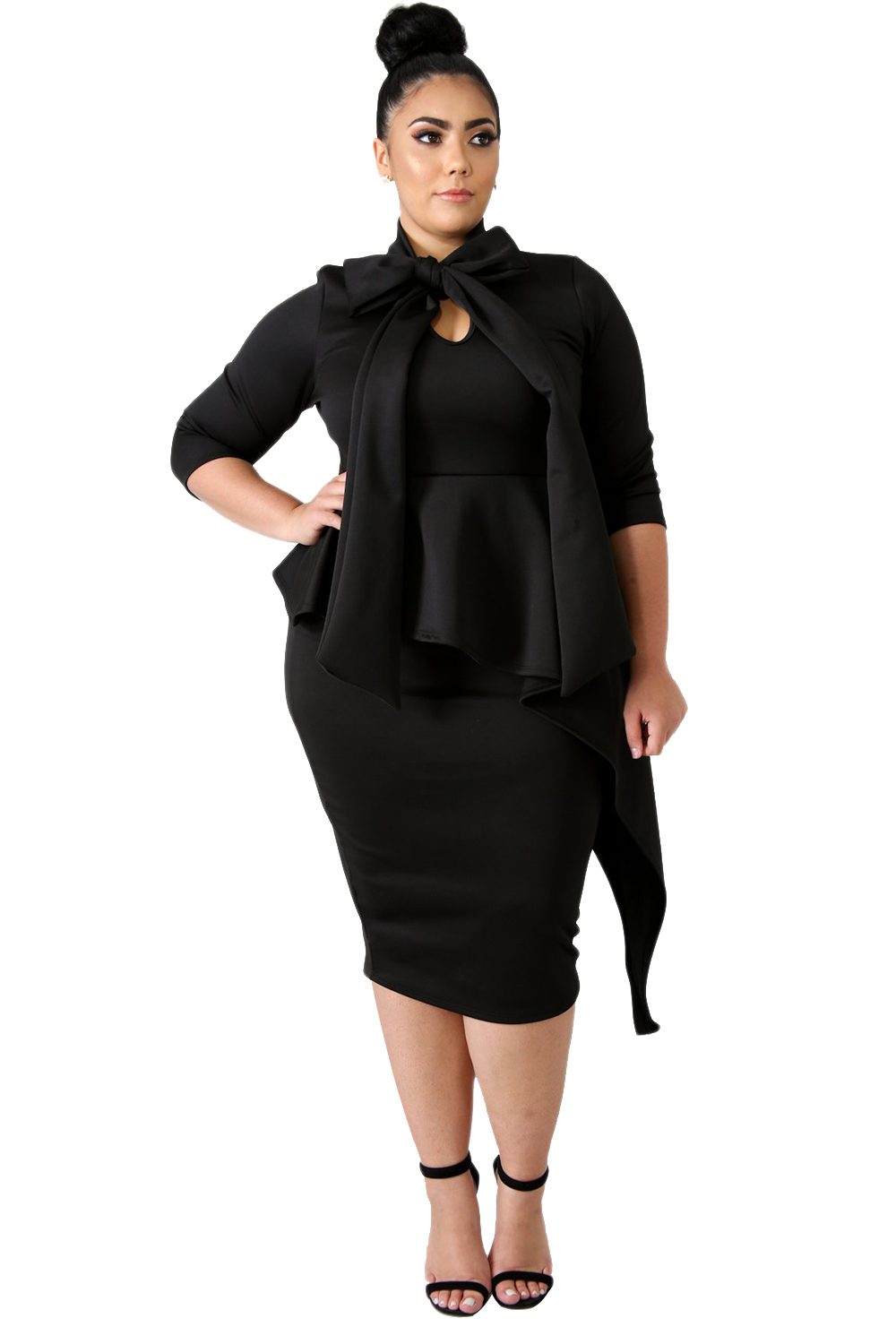 Detail Feedback Questions about Gosopin Plus Size Long Sleeve Autumn ... b195bf44503e