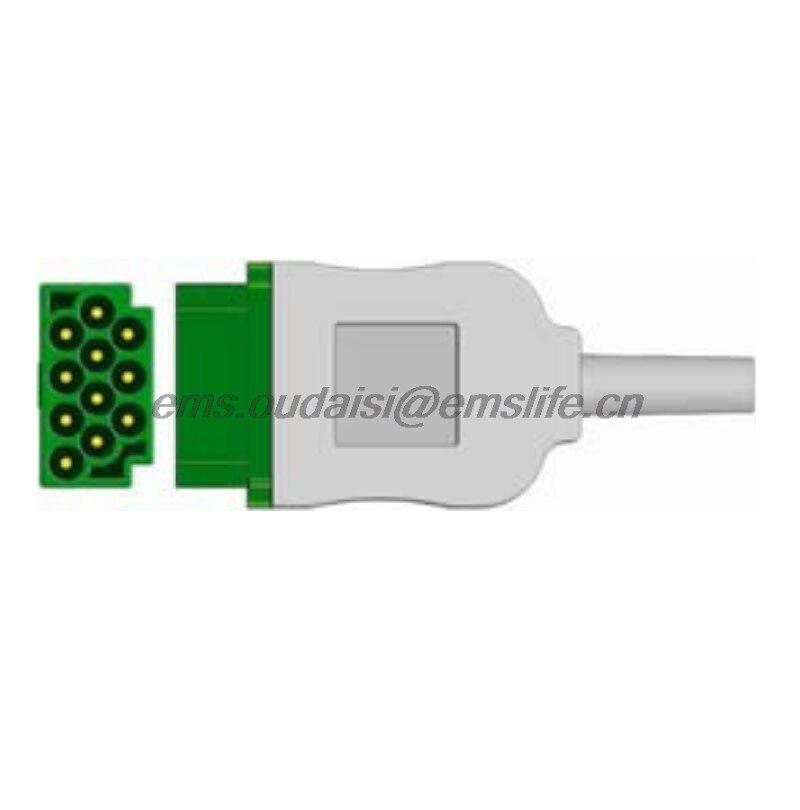 GE Marquette EKG 11pin platz anschluss für Ekg kabel ersatzteile von ...