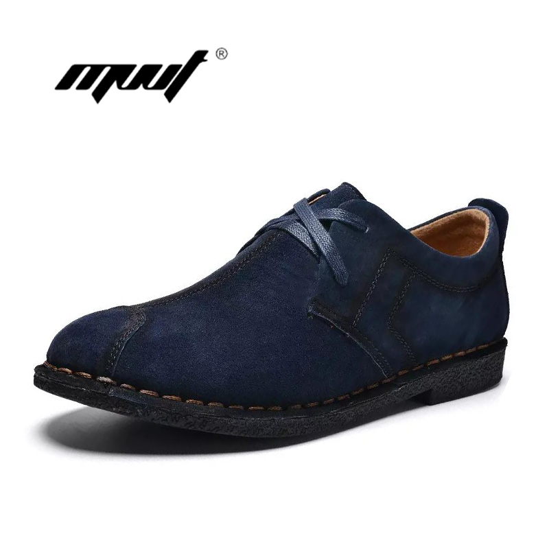 Handmade Genuine suede Leather men shoes soft men Casual Shoes Breathable Men's Flats Oxford Shoes xizi quality genuine leather men loafers 2017 designer soft breathable casual mens leather suede flats boat shoes