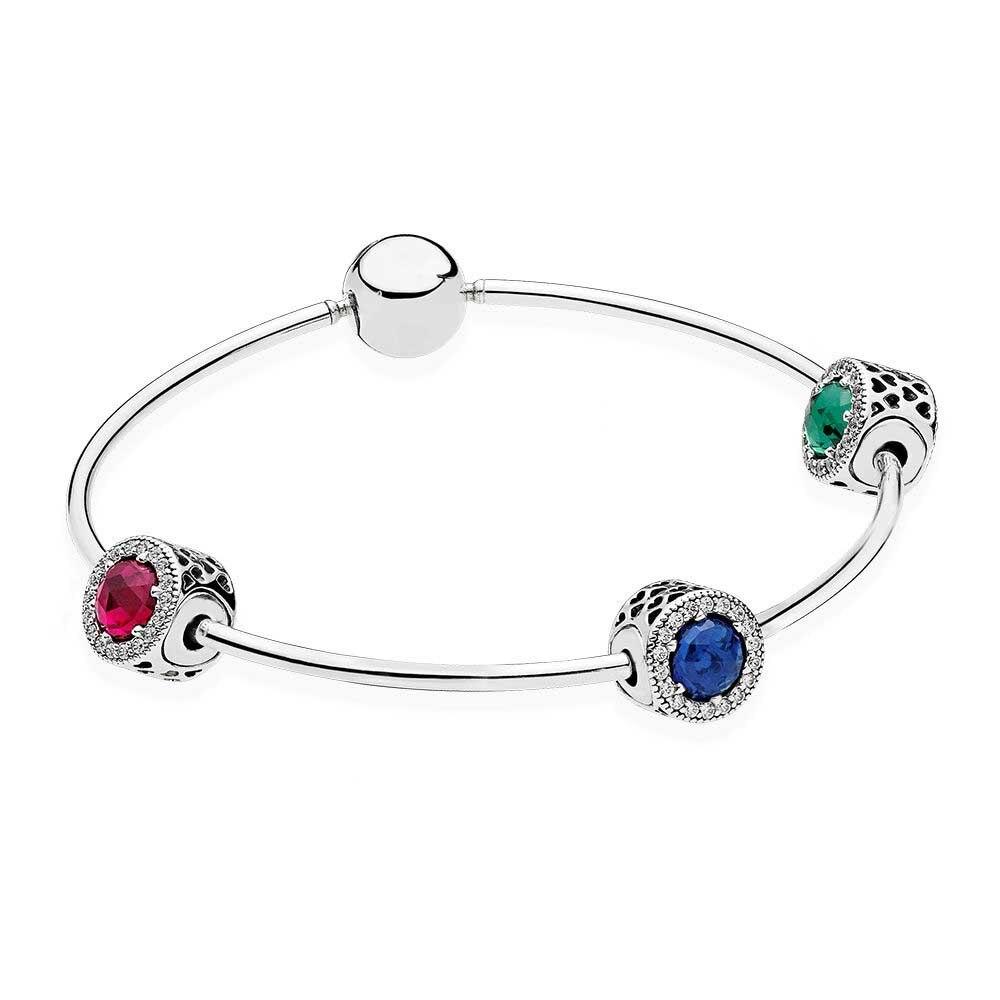 100% 925 Sterling Silver E Peace, Optimism & Passion Gift Set Fit DIY Original Charm Bracelets Jewelry A Set of Prices недорго, оригинальная цена