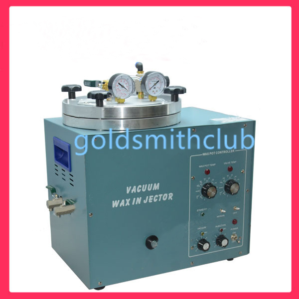 220 v Injecteur de Cire Sous Vide Cire Machine D'injection Machine De Fabrication De Bijoux Outils Équipement 100% Haute Qualité