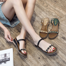 Classic Women Sandals Med Heels Wedges Sandals Black/Apricot/Green Spring/Summer Female Shoes Casual Lady Shoes Woman Footwear 2019 concise women platform sandals high heels wedges sandals summer apricot black female shoes casual lady shoes woman footwear
