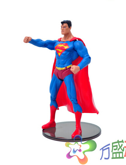 Hot Superman 18cm Action Figures PVC brinquedos Collection Figures toys for christmas gift AnnO00279A