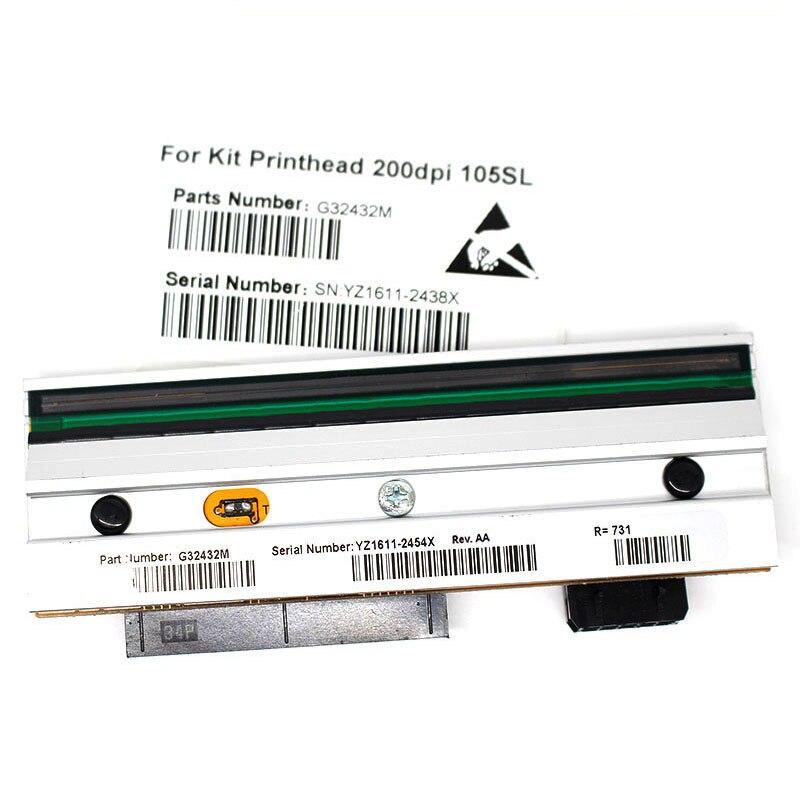 New Compatible 105SL Printer G32432M Thermal Print head For Zebra 105SL 110PAX3 110PAX4 203dpi аппарат для жвачек капсулы в екатеринбурге