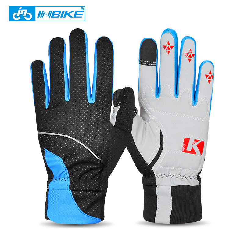 Winter Thickened Warm Cycling Gloves Men s Windproof Outdoor Sport Gloves Women Bicycle Gloves Touch Screen