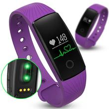 Smartband Heart Rate Monitor Fitness Flex Bracelet for Android iOS PK fitbits ID107