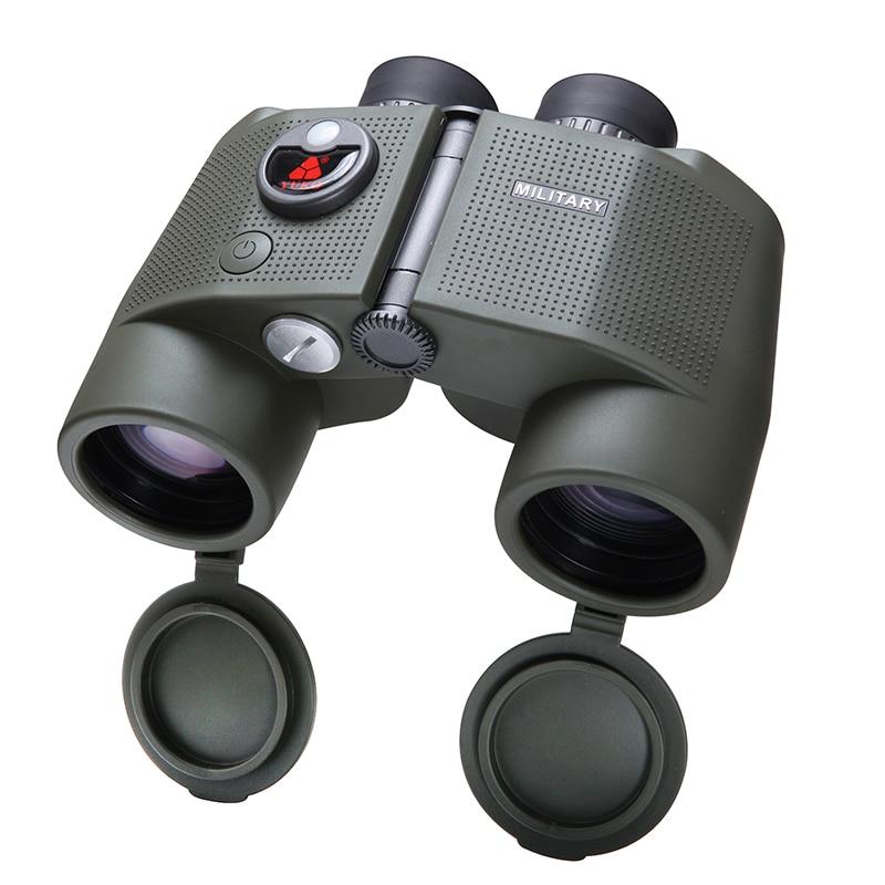SCOKC 7X50 Binoculars Telescope Waterproof Nitrogen High resolution Range Finder Adult Big Azimuth Compass стоимость